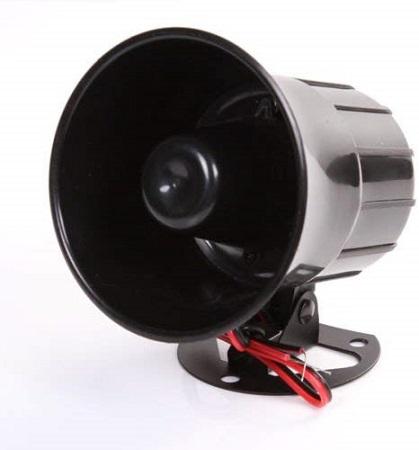 12V Car Truck Alarm Siren Horn Loud Speaker Auto Sound New