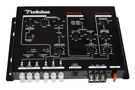 5 Way Pro Audio Bank Crossover ABB-5DXi.