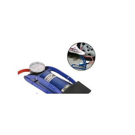 Multi-funcional Air Pressure Foot Pump For Bike,Car,Motorcycle,Cycling,Balls Single Barrel Foot Pump