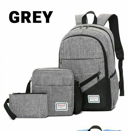 Canvas 3 in 1 Laptop Backpack