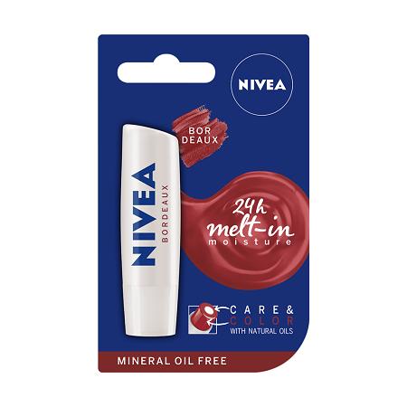 Nivea Care and color Bordeaux Lip balm