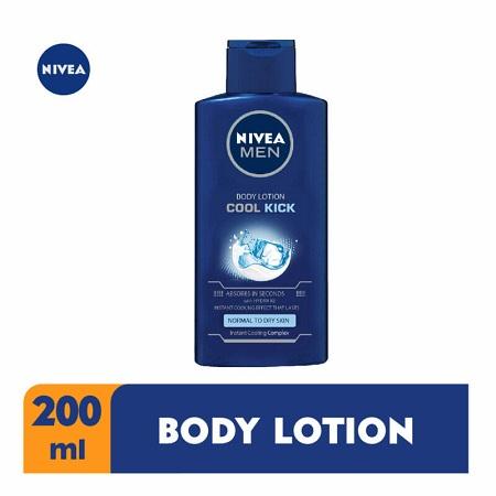 Cool kick body lotion for men 200ml
