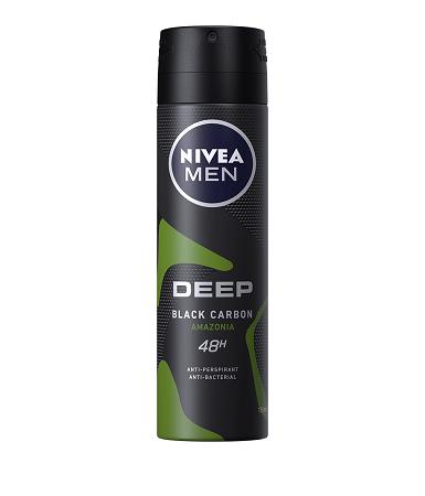 Nivea Deo spray Deep Amazonia for men 150 ml