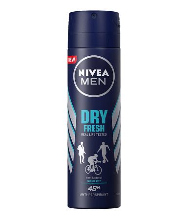 Nivea Dry Fresh Spray for Men 150ml
