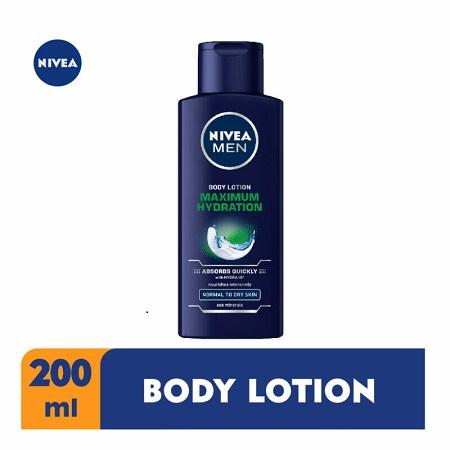 Nivea Maximum hydration body lotion for men 200ml