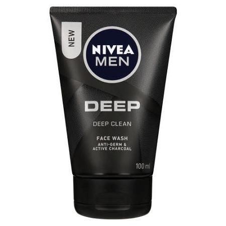 Nivea Men Deep Cleansing Gel 100ml