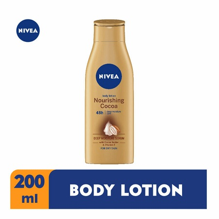 Nivea Nourishing cocoa body lotion 200ml