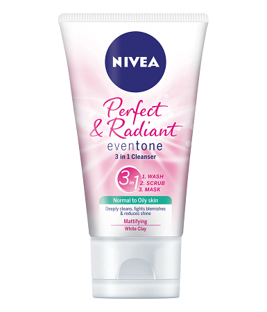 Nivea Perfect & Radiant 3 in 1 Cleanser 150 ml