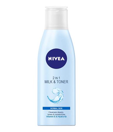 Nivea Refreshing 2 In 1 Milk & Toner 200ml