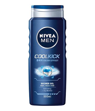 Nivea Shower Cool kick For Men 500 ml