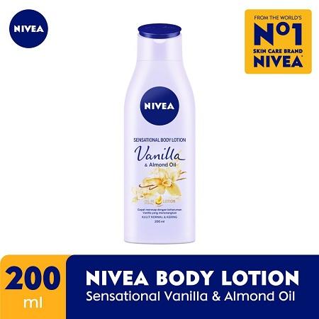 Nivea Vanilla and Almond Oil 200ml