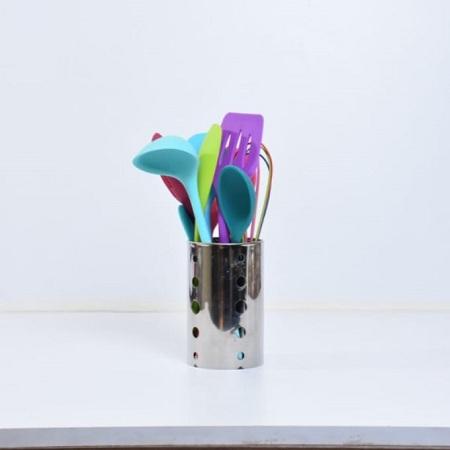 Silicone Multicoloured Serving Spoon Set