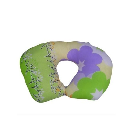 Generic Breastfeeding Pillow - Multicolored - Pillow And Its Cover