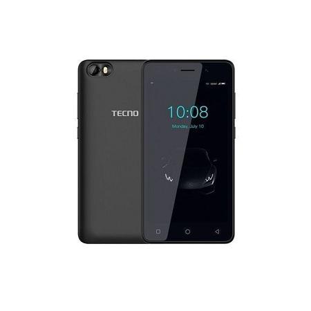 Tecno F1, 8GB Storage, + 1GB RAM, (Dual SIM), Black