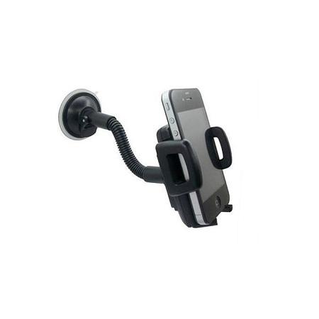 Universal Plastic Car Phone Holder - Black