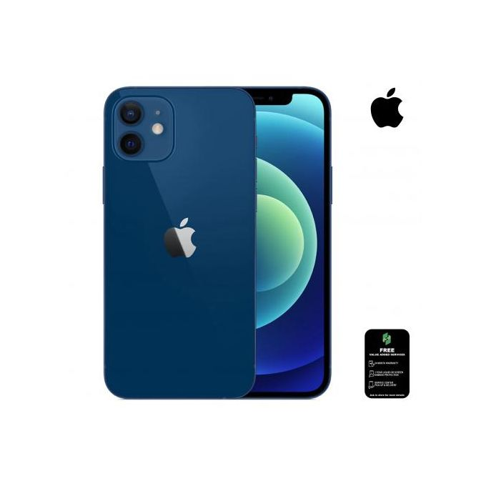 Apple IPhone 12:6.1inch - 128GB + 4GB RAM - Single SIM (e-SIM)