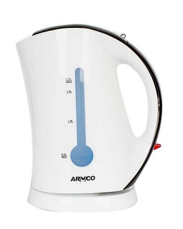 Armco Plastic Cordless Kettle Akt-162Wd(W)