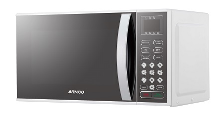 Armco AM-DG2343(AS) - 23L Microwave Oven + Grill - Mirror Glass - Silver