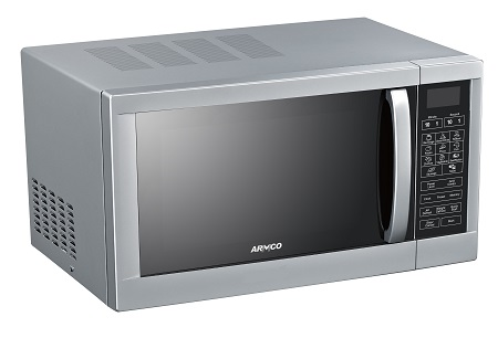 Armco AM-DG3043(AS) - 30L Microwave Oven + Grill - Mirror Glass - Silver