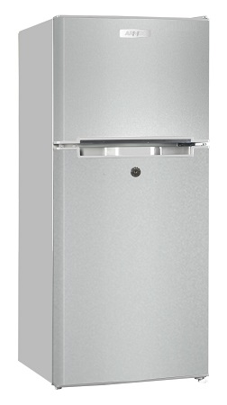 Armco ARF-D178(DS) - Two Door Refrigerator - 6CuFt - 118L - Dark Silver