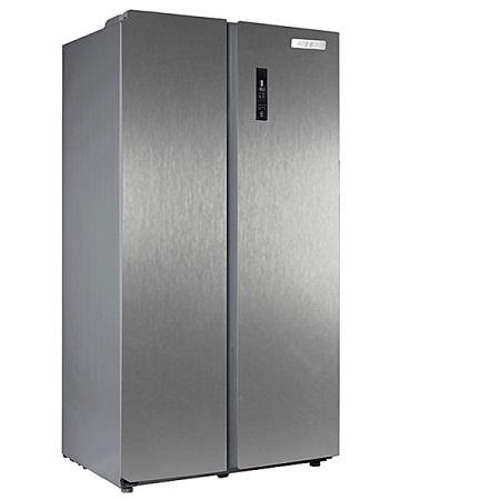 Armco ARF-NF758SBS(SL), 2 Door Side by Side, 562L (362L Refrigerator/200L Freezer) - Silver