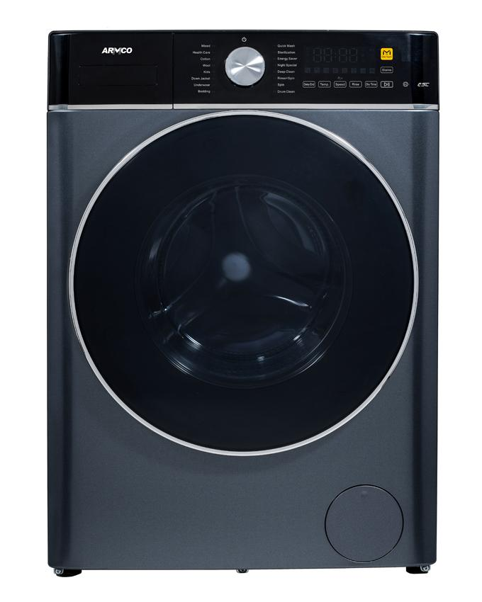 ARMCO AWM-FL1000ML-OZ(SL) - 10 Kg Automatic - Front Load Washing Machine.