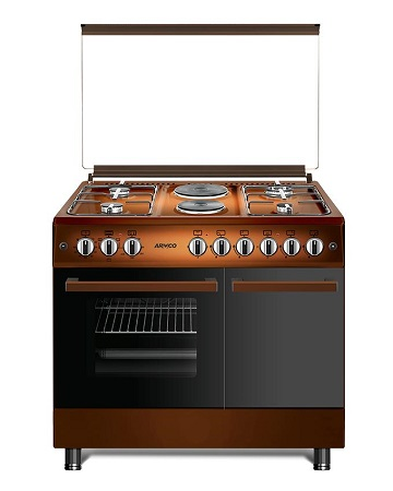 ARMCO GC-F9642FBT(TDF) - 4 Gas, 2 Electric (RAPID), 60x90 Gas Cooker.