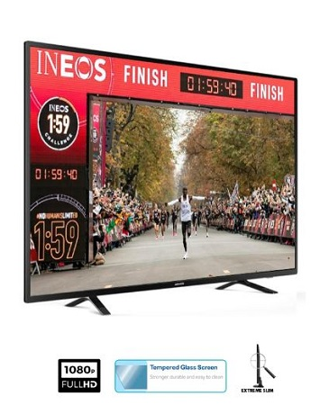 ARMCO LED-T22H1-DC - 22 Inch Digital LED TV - Full HD, Tempered Glass Screen.
