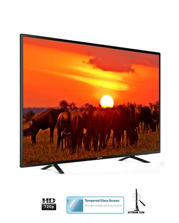 ARMCO LED-T32H1 - 32 Inch Digital Television, LED TV, HD Ready - Tempered Tough Screen