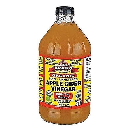 Bragg Organic Raw Unfiltered Apple Cider Vinegar with 'the mother' - 946ml