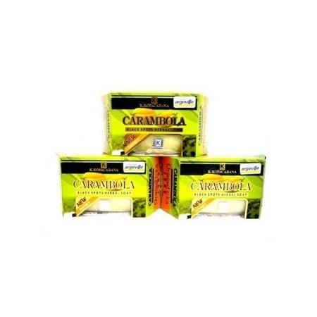Generic Carambola Black Spots Herbal Soap - 120g, 3 Bars