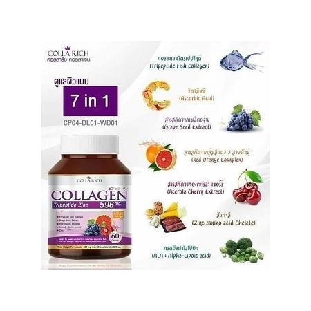 Colla Rich Collagen Capsules - - (60 capsules).