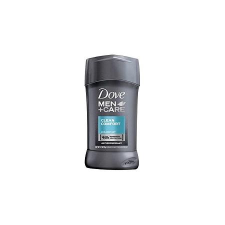 Dove Men+Care Clean Comfort Antiperspirant, Non-irritant,48hrs