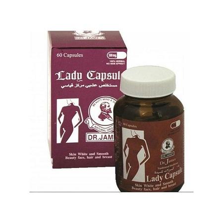 Dr. James Lady Capsule Skin Lightening - 60 Pills