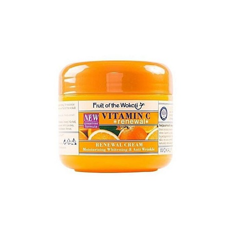 Fruit Of The Wokali Vitamin C Renewal Cream,anti-wrinkle & Anti-aging-ORGANIC