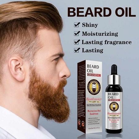 GUAN JING Beard Master, Beard Oil-professional Care, Beard Growth