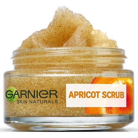 Garnier Apricot Scrub, Intensive Cleansing Healthy Glow With Apricot Oil