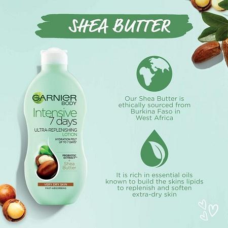Garnier Intensive 7Days Ultra-replenishing Lotion,Shea-VERY Dry Skin