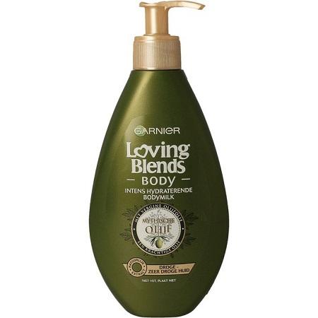 Garnier Loving Blends Body, Olijf(OLIVE) Bodymilk, Dry Skin-(DUTCH)
