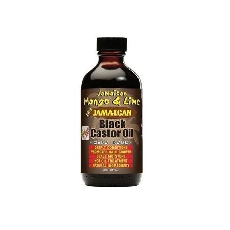 Jamaican Mango & Lime Black Castor Oil - Xtra Dark 4 oz- (118ml)