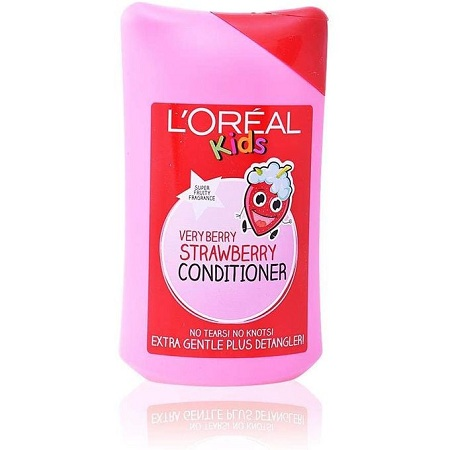 LOreal Paris Kids Very Berry Strawberry Conditioner-detangler,no Tears