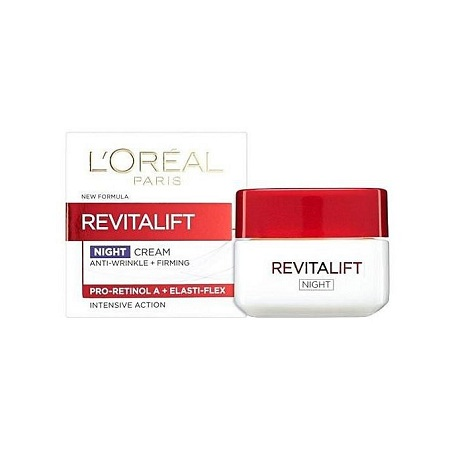 LOreal Paris NIGHT CREAM ANTI-WRINKLE + FIRMING PRO-RETINOL A