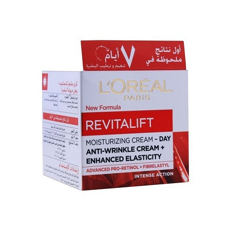 L'Oreal Revitalift Moisturizing Cream-DAY Anti-wrinkle Cream,retinol