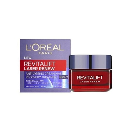 L'Oreal Revitalift Laser Renew Anti-Ageing Cream Mask Recovery Treatment Night Cream