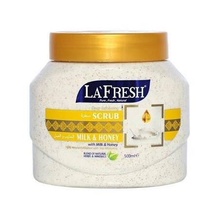 La Fresh Milk & Honey Exfoliating Scrub