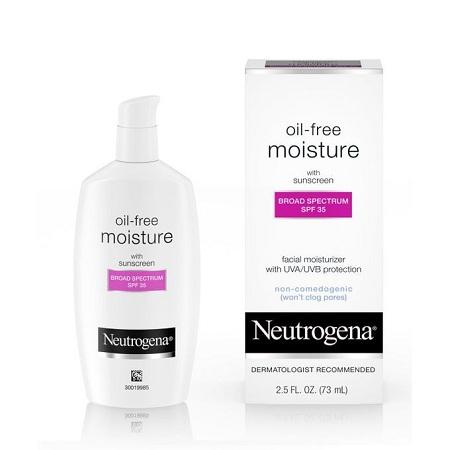 Neutrogena Oil-free Moisture With Sunscreen-Broad Spectrum SPF 35