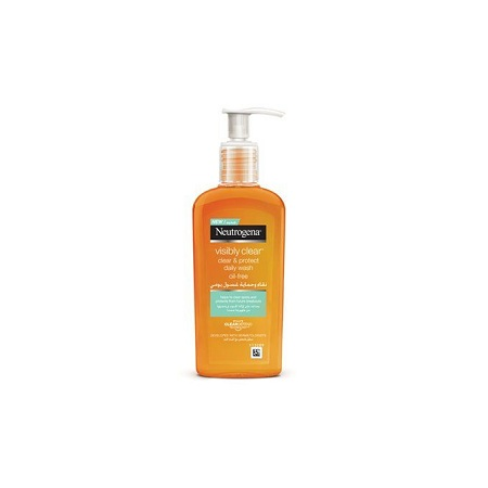Neutrogena Visibly Clear, Clear&Protect Daily Wash With SALICYLIC ACID