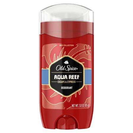 Old Spice Aqua Reef,Escape&Cypress Deodorant,Aluminium Free