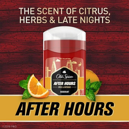 Old Spice Red Collection After Hours Scent Deodorant- Spice & Intrigue