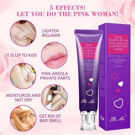 Pei Mei Pink Essence For Lips, Areolas And Private Parts-30g